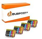 20 Bubprint Druckerpatronen kompatibel für Canon PGI-525 CLI-526 für Pixma MG-5150 MG-5250 MG-5350 MG-7150 MG-5300 MG-6150 IP-4850 MX-885 Multipack