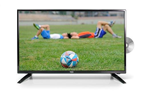 Xoro HTC 3247 80 cm (31,5 Zoll) LED Fernseher (DVD Player, HD, PVR Ready, Triple Tuner DVB-S2/T2/C, H.265/HEVC-Decoder, 12V, incl. KFZ Kabel)