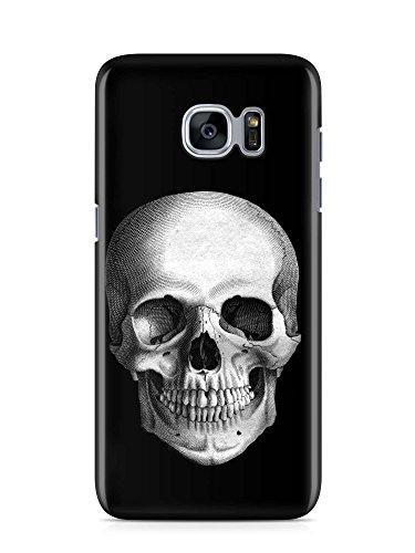 COVER skull Totenkopf SCHWARZ Handy Hülle Case 3D-Druck Top-Qualität kratzfest Galaxy S7 Blogger-kamera