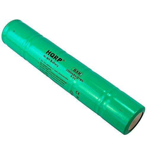 HQRP Batteria per Maglite ARXX235 / ARXX075; SL20, 20170, 26000, 26060; 108-000-817, 108-817, 108-000-439, 108-439