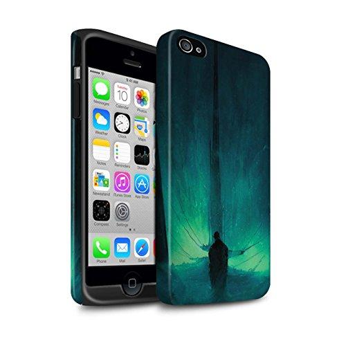 Offiziell Chris Cold Hülle / Matte Harten Stoßfest Case für Apple iPhone 4/4S / Pack 10pcs Muster / Dunkle Kunst Dämon Kollektion Bösen Herzens