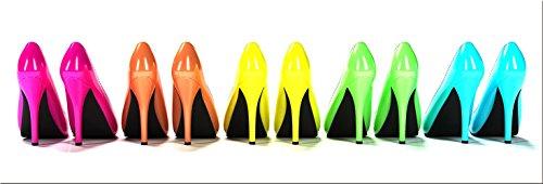 Edel High Heels (artissimo, Dekopanel, Deco Panel, ca. 90x30cm, PE5488-PA, Digital-Art: High Heels, Bild, Wandbild, Wanddeko, Wanddekoration, Poster auf Decopanel)