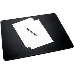 Sigel SA166 - Vade de piel sintética para escritorio Eyestyle, color negro