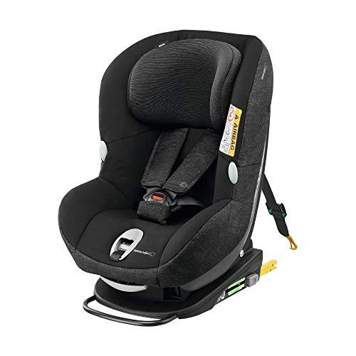 Bébé Confort Milofix , Siège-Auto Groupe 0+/1 (jusqu'à 18 kg), ISOFIX, de la Naissance à 4 ans, Nomad Black
