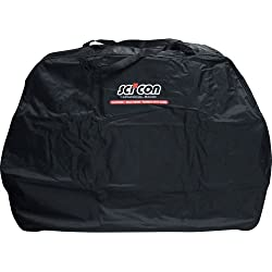 Scicon Travel Basic - Bolsa de ciclismo, color Negro, 130 x 25 x 82 cm