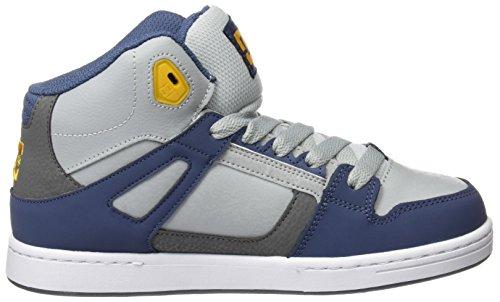 DC Shoes Jungen Rebound Se Sneaker Mehrfarbig (Blue/Grey/Blue)