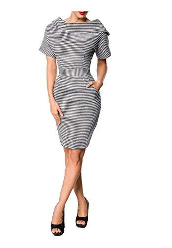Belsira Damen Vintage-Kleid L