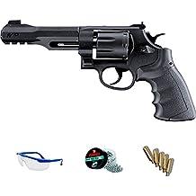 PACK revólver de aire comprimido (CO2) Smith & Wesson M&P RM8 de balines BBs <3,5J