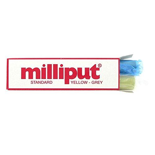 Unbekannt Milliput Standard gelb grau zwei Teil Epoxy Putty - Putty Epoxy-bond