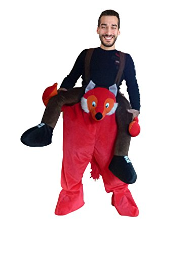 (PUS Carry-me Fuchs- Kostüm-e F108 One Size, Kat. 2, Achtung: B-Ware Artikel. Bitte Artikelmerkmale lesen! Frau-en und Männer Wald- Tier-e Füchse Fasnacht- Fasching-s Karneval-s Geburtstag- Geschenk-e)