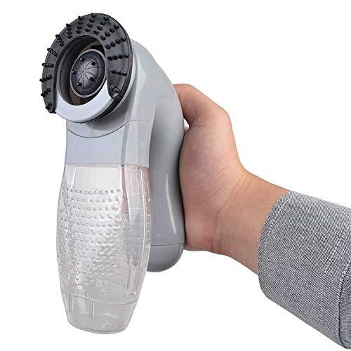 PER Elektrische Haustier-Haar-Abbau-Bürste mit Griff-weichem Grooming Bürsten Deshedding Werkzeug für Katzen-Hundepferd-Baden und entspannende Massage