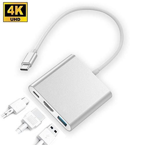 Zedela Hub USB C, Adaptador Multipuerto 1 Puerto HDMI,1