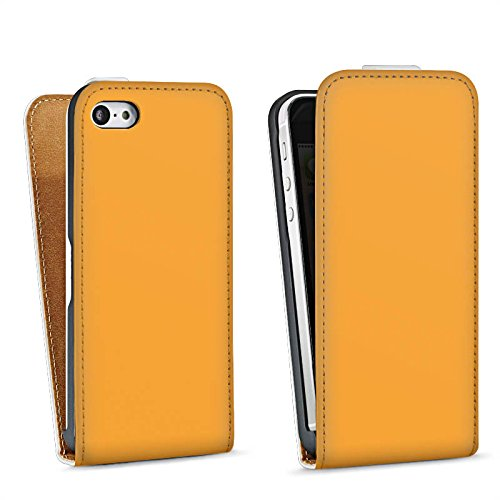 Apple iPhone 4 Housse Étui Silicone Coque Protection Melons Couleur Orange Sac Downflip blanc