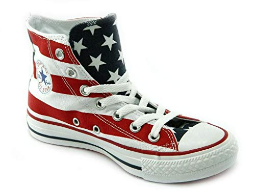 Converse Chucks AS HI Season Can M8437C Stars & Bars USA, Groesse:37 EU / 4.5 UK / 4.5 US / 23.5 cm