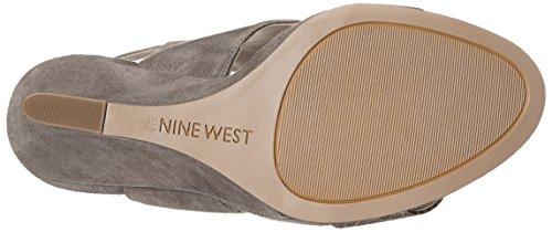 Nine West Bueta Samtkleid Pump Grey/Multi