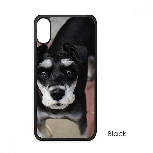 beatChong Black Dog Haustier-Tier Niedliches Bild für iPhone X-Hüllen phonecase Apple-Abdeckungs-Hüllen-Geschenk