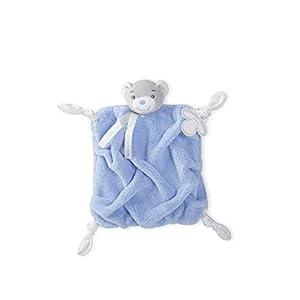 Kaloo Plume – Doudou Ourson 20 cm – Bleu