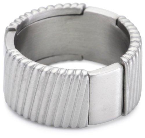 Esprit Ring Edelstahl flush