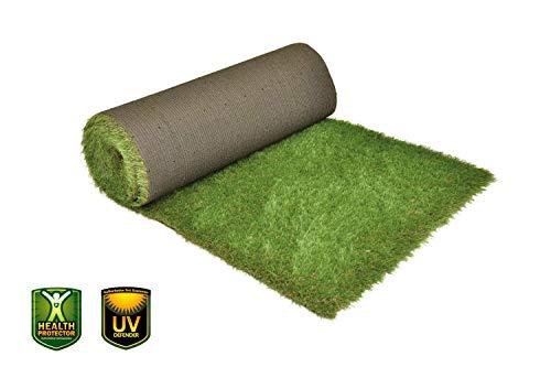 xone prato irish 30 mm h2x10mt -tot 20mq i rotolo prato artificiale erba finta aspetto realistico altezza 30mm | tappeto erba sintetica | manto prato effetto naturale 20mq