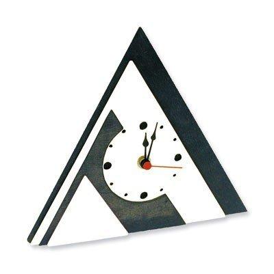 matches21 Standuhr Uhr Pyramide Holz Bausatz f. Kinder Werkset Bastelset ab 11 Jahren