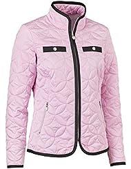 britney Quilted Jacket, color rose, tamaño large