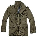 Brandit, M65 Field Jacket per Uomo Classic, Oliva M