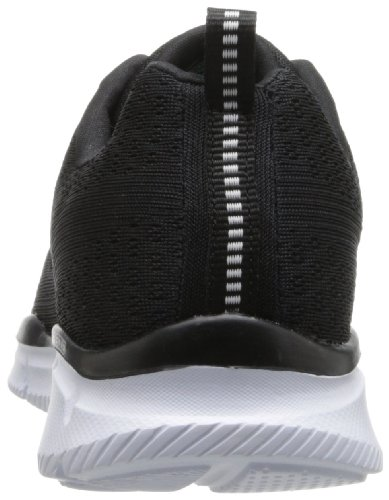 Skechers Equalizer Quick Reaction Herren Sneakers Schwarz (Bkw)
