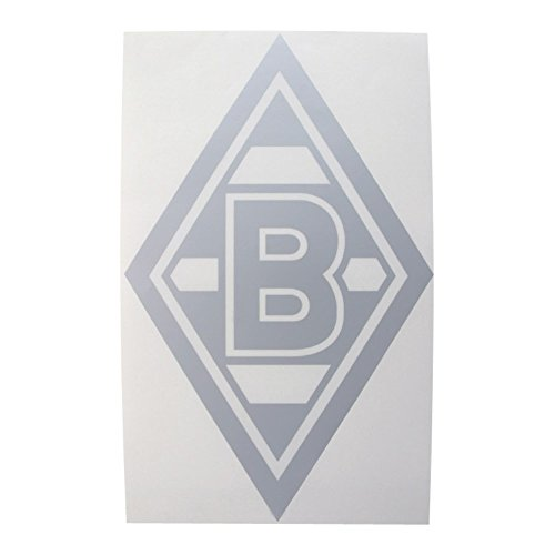 VfL Borussia Mönchengladbach Edelaufkleber silber BMG - plus gratis Aufkleber forever Mönchengladbach