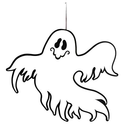 (Quaan Festival Halloween Innerhalb und Draußen Halloween hängend Tür Dekorationen Mauer Charakter Einteiliges Paket Gemälde Blackout DIY Dekor Mauer Aufkleber Zuhause Dekor Kunst Tapete)