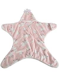 SAMGU Belle Étoile de mer de bébé Sac de couchage d'hiver couverture chaude Swaddle sleepsacks