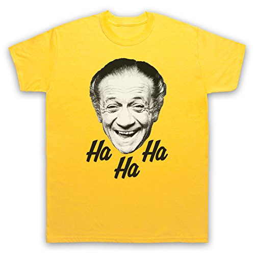 Sid James Ha Ha Ha Laugh Herren T-Shirt Gelb