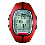 Polar RS300X - Reloj de entrenamiento con funciones de cronómetro y frecuencia cardíaca, naranja