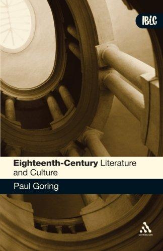 Eighteenth-Century Literature and Culture
