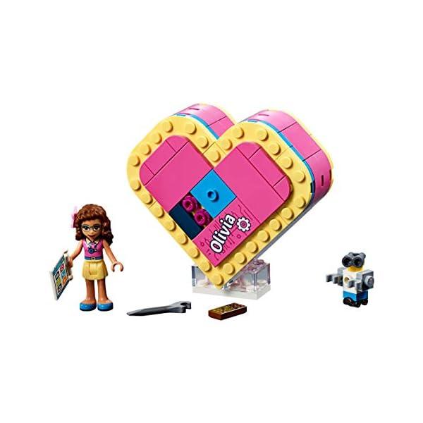 LEGO Scatola Del Cuore Di Olivia Costruzioni Piccole 4 spesavip