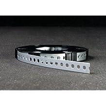 10 Meter Montagelochband Montageband 12mm in Spenderkassette für Fixpin,Schrauben und Nägel geeignet Profiware von MD