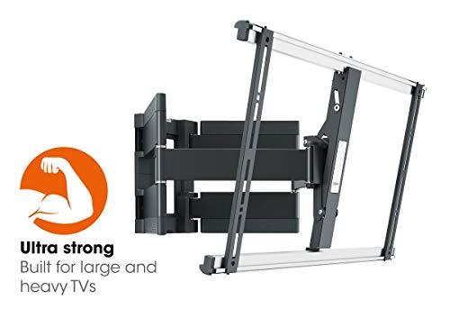 Vogel\'s THIN 550 Ultrastarke TV-Wandhalterung für besonders große (102-254 cm, 40-100 Zoll) oder schwere (max. 70 kg) Fernseher, schwenkbar und neigbar, VESA max. 600 x 400, schwarz