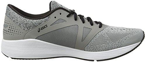 Asics Roadhawk FF, Chaussures de Running Homme Gris (Aluminum/black/silver)