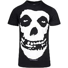 Offizielles Lizenzprodukt MISFITS - SKULL T-Shirt (Schwarz)