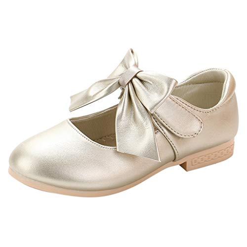 Baby Mädchen Leder Schuhe Kleinkind Kinder Kinder Glossy Krawatte Bowknot Single Princess Sandals -