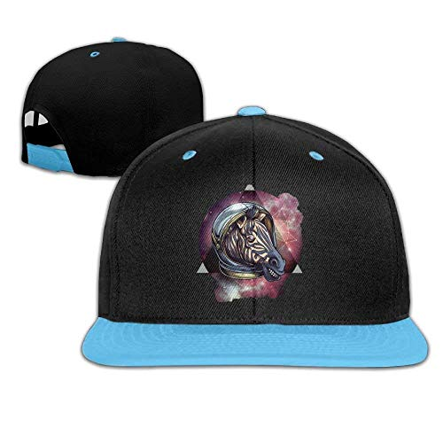 Adjustable Baseball Youth Cap Hip Hop Hat Galaxy Zebra Head Boy-Girl (Hat Hip-hop-galaxie)