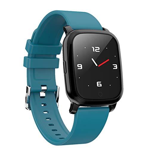 CarJTY CV06 Herzfrequenz-Blutdruck-Schlafmonitoring SmartWatch Pedometer Tracker Smartwatch (3,3 cm (1,3 Zoll) Display, NFC, Bluetooth, WLAN, Tizen OS, mit Silikon-Armband)