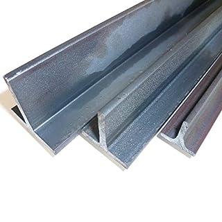 B&T Metall Stahl T-Profil 30 x 30 x 4 mm gleichschenklig in Längen à 2000 mm +/- 5 mm S235 (1.0038 ST37) T-Träger T 30 Rohstahl unbehandelt