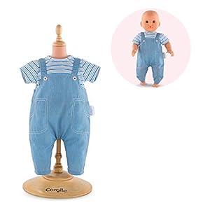 Corolle-T Shirt Rayas & Peto para muñeca
