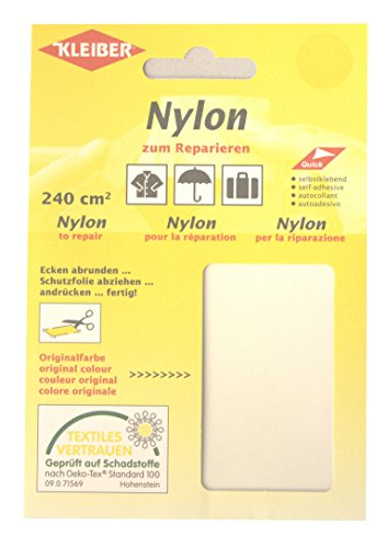 Kleiber Selbstklebendes Reparaturmaterial aus Nylon, weiß