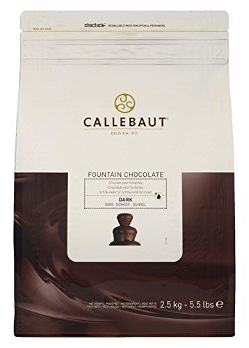 Chocolat noir Callebaut pour fontaines 2,5 kg