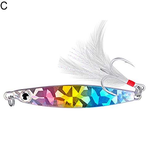CricTeQleap Angelzubeh?r, Leuchtende Farben hartes Fshing Lures k¨¹nstliche Fake Life-Like Minnow Shape Fish Baits