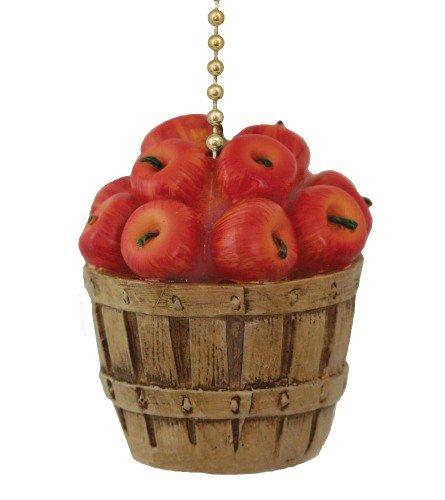 Clementine Country Kitchen Apple Korb Deckenventilator Pull Licht Kette (Apple-geschenk-korb)