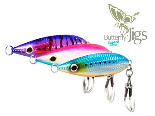 Shimano Butterfly Flat-Fall Jigs - Weight 160g/5.64oz - Blue Sardine (Angeln Jig Fall)