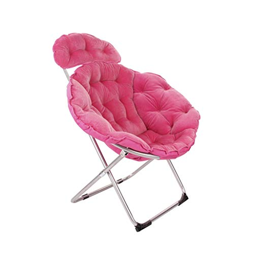 JIE KE Stuhl Large Adult Moon Chair Sonnenliege Lazy Chair Recliner Klappstuhl Round Chair Bequemes...