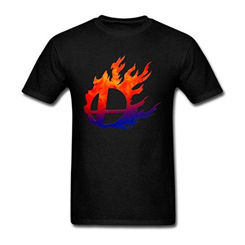 Sixtion TLMKKI Men's Super Smash Bros T-Shirt